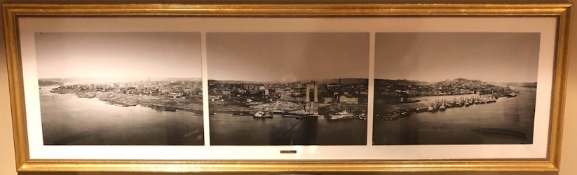 Cincinnati historical triptych