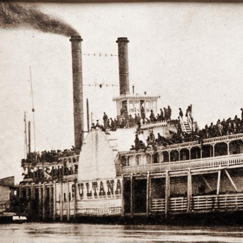 steamship Sultana, 1865