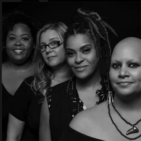 The four members of Beautiful Chorus, four strong Black women